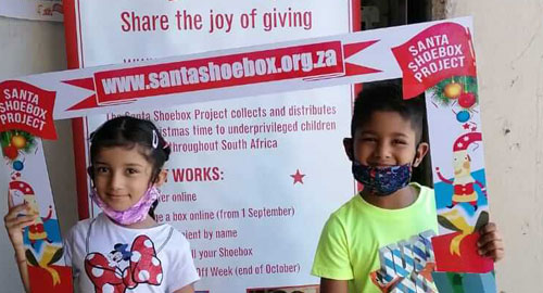Beekman Group Supports Santa Shoebox Project 2020